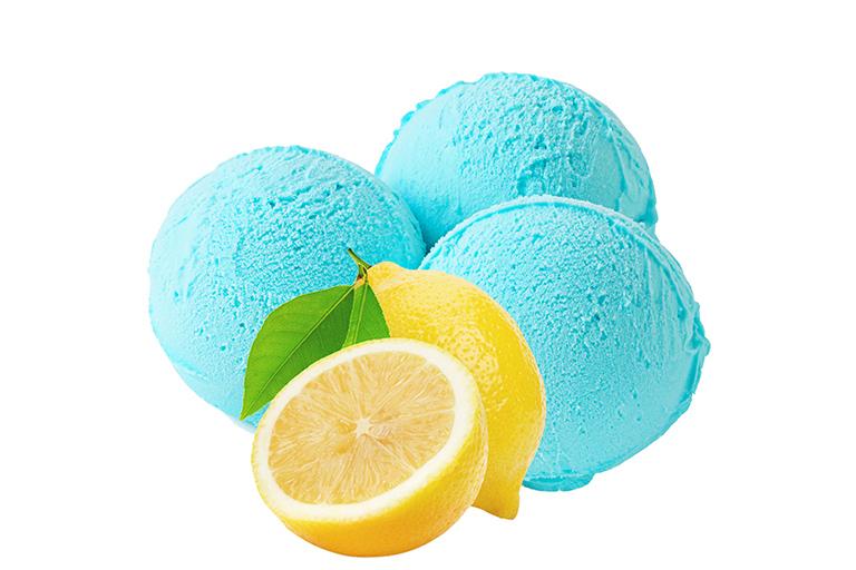 Sorbet Citron bleu