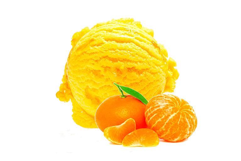 Sorbet à la Mandarine